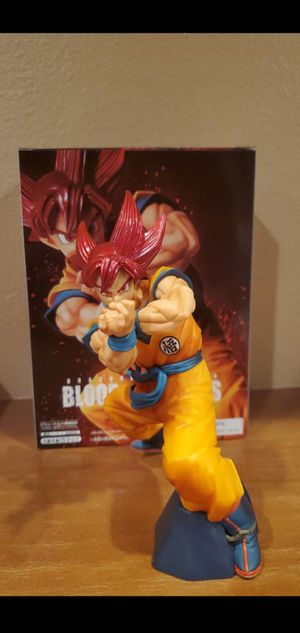Super Saiyan God Goku Blood of Saiyans 2 Banpresto for Sale in Riverside, CA