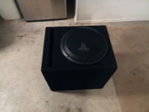 12' JL Audio Subwoofer for Sale in Carlsbad, CA