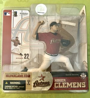 McFarlane MLB Series 10 Roger Clemens Houston Astros Collectible Action Figure for Sale in Surprise, AZ