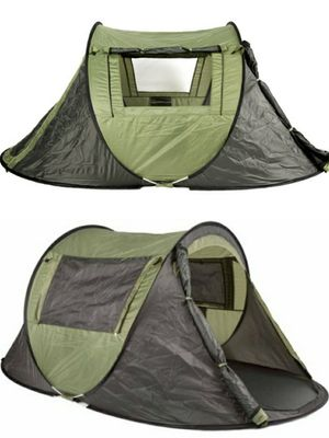 New in box 1 to 2 people 96x57x43 inches outdoor beach camping tent with privacy screen ez pop up design waterproof includes carrying bag for Sale in Whittier, CA