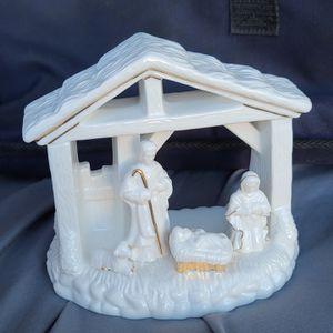 Ceramic Nativity Scene Candle Holder for Sale in Murrieta, CA