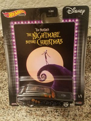 Nightmare before Christmas hot wheels car for Sale in Lewisville, TX