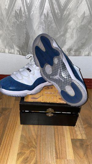 Jordan 11 retro low snake skin for Sale in Riverside, CA
