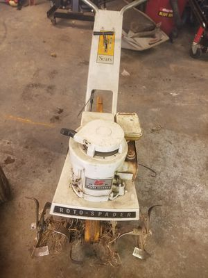 Sears 5hp front tin roto tiller for Sale in Marion, OH