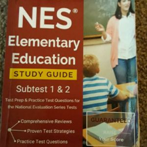 NES Elementary Education subtlest 1&2 study guide for Sale in Kent, WA