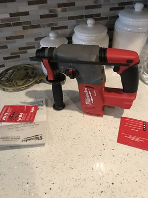 Milwaukee rotary hammer drill fuel brushless new never used only tool for Sale in Silver Spring, MD