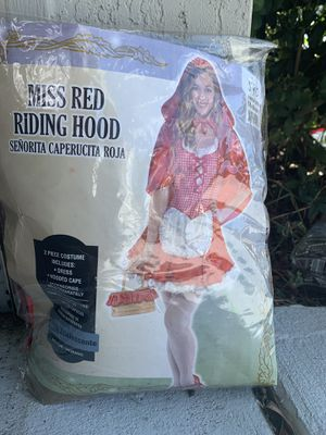 Little red riding hood costume for Sale in Lakeland, FL