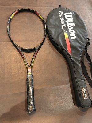 Racket Racquet Tennis wilson Prostaff classic 6.1 $70 OBO for Sale in Rancho Cucamonga, CA