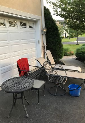 Bundle of patio furniture for Sale in Ivyland, PA