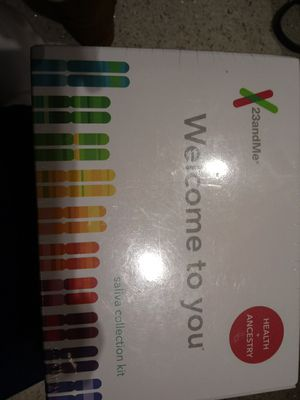 23andMe saliva collection kit (Health + Ancestry) for Sale in North Highlands, CA