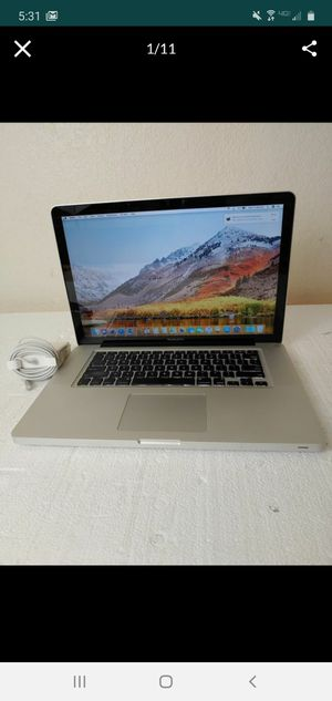 "Laptop Apple Macbook Pro A1286 2011 15"" i7 2.2GHz 16GB 500GB SSD OSX 10.13 for Sale in Peoria, AZ"