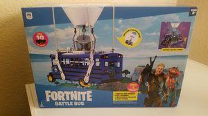Fortnite Battle Bus Deluxe Vehicle 2 action Figures for Sale in Phoenix, AZ