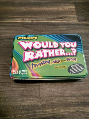 Would you rather game for Sale in Cary, NC