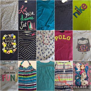 15 Girls Shirts 5T and 4T Bundled for Sale in Tampa, FL