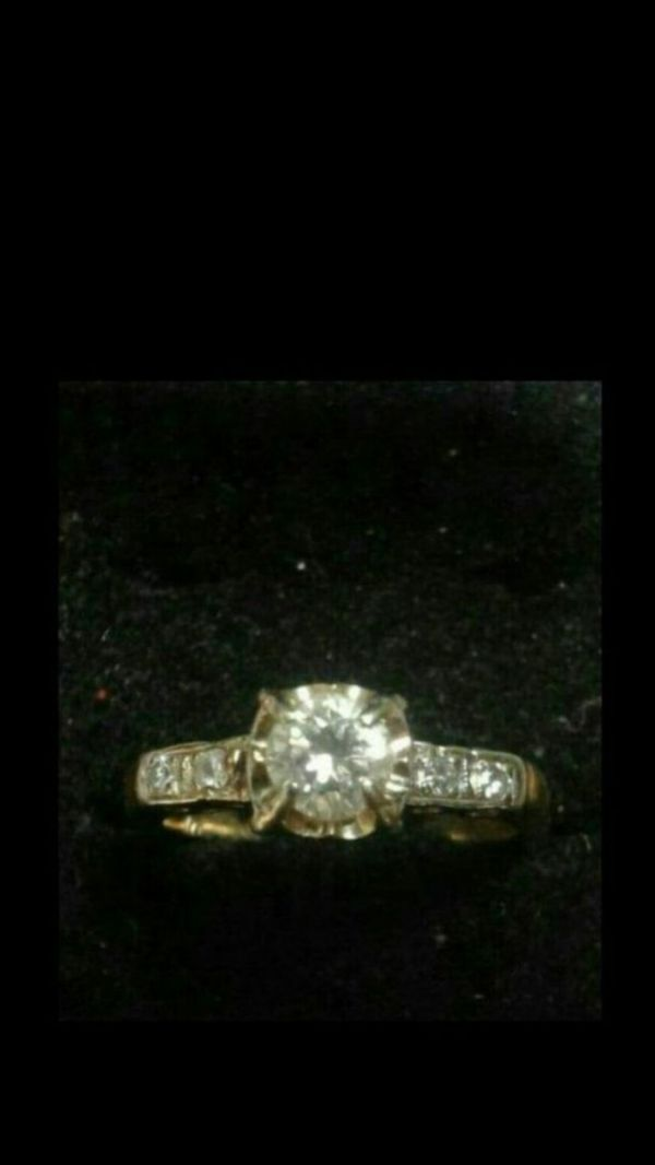 Need New Refridgerator no older than 3 years old & or cash- Vintage 14kt Gold & Diamond Engagement Ring bought 68 years ago by my dad for my mom