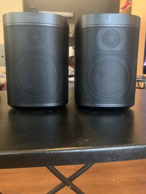 Two Sonos One Speakers for Sale in Fayetteville, NC
