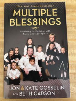 Book - Multiple Bles8ings for Sale in Colleyville,  TX