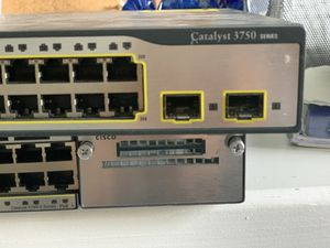 Cisco 3750 switch for Sale in Cary, NC