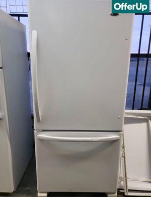 😍😍White Refrigerator Fridge Amana Bottom Freezer #1124😍😍 for Sale in Ontario, CA