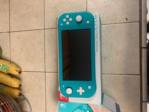 turquoise Nintendo switch lite for Sale in San Diego, CA