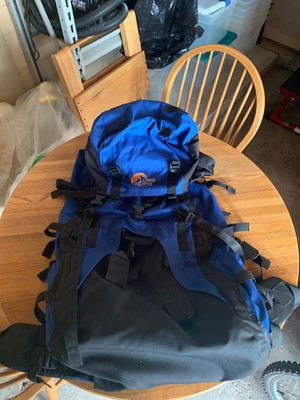 Camping Hiking Backpack Lowe Alpine Contour IV 90 + 15 for Sale in Naperville, IL
