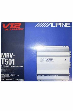 Alpine MRV-T501 car audio amplifier for Sale in Chicago, IL