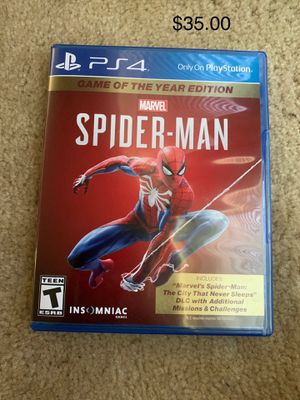 PS4 Spider-Man for Sale in Fresno, CA