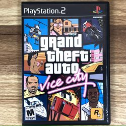 Grand Theft Auto Vice City PS2 Video Game for Sale in Pahrump,  NV