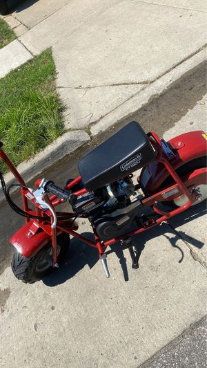 Colemen minibike ct100u jammed throttle for Sale in Dearborn, MI
