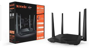 Tenda AC1200 Dual Band WiFi Router (AC6),Black for Sale in Fort Lauderdale, FL