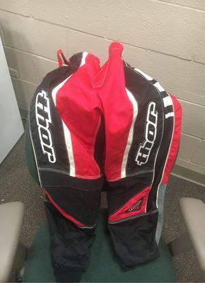 Thor motocross atv dirt bike pants 26 for Sale in Lemont, IL