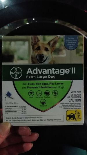 Advantage 2 Xtra Lg Dog 1dose for Sale in Hoquiam, WA