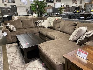 NEW IN THE BOX, U SHAPED SECTIONAL, STORM. IN STOCK. for Sale in Garden Grove, CA