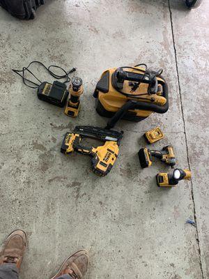 Dewalt tools for sale nail gun vacuum impact for Sale in Oakland, CA