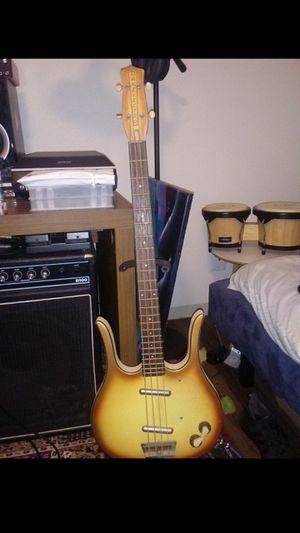 Vintage Danelectro 1958 Bass guitar for Sale in San Antonio, TX