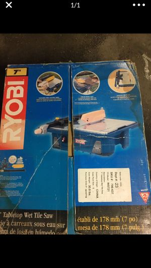 7 inch royobi wet saw for Sale in Nahant, MA