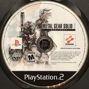 Metal Gear Solid 2: Substance PS2 Game for Sale in Banning, CA