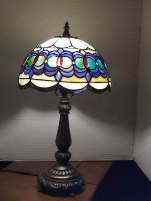 Lamp with stain glass top for Sale in Washington, DC