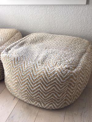 Fabric Ottoman - Willow Glen for Sale in San Jose, CA