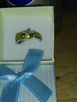 Footprints in the sand ring for Sale in Mulberry, KS
