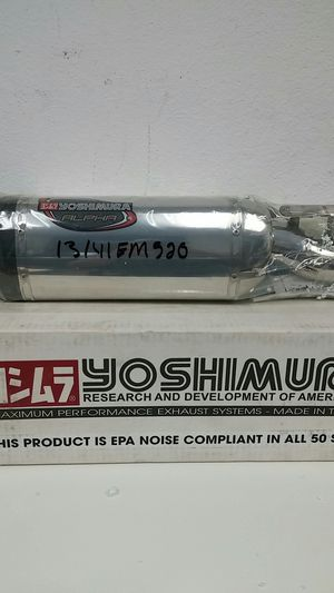 Yoshimura Yamaha YZF-R1 15-18 Street Alpha T Slip On Race Exhaust for Sale in Long Beach, CA