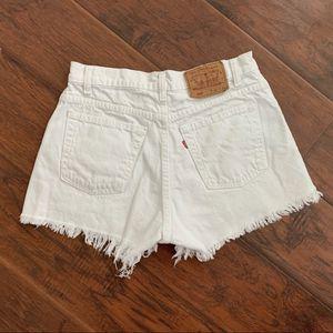 White Original Levi Jean Shorts size 30 for Sale in Redington Shores, FL