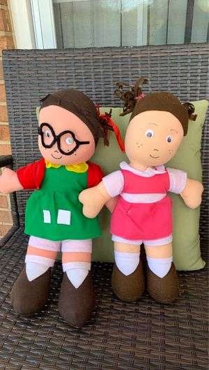 El Chavo del Ocho Animado Stuffed Toys (La Chilindrina y Popis) for Sale in Woodbridge, VA