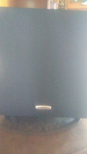 POLK AUDIO POWERED SUBWOOFER MODEL TL-1600 for Sale in Lake View Terrace, CA