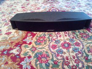 Bose vcs_10tm.center channels speaker.color black. for Sale in Northbrook, IL