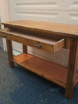 Solid Wood Kitchen Island Desk for Sale in Everett,  WA