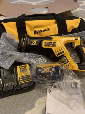 Dewalt Reciprocating Saw 20v XR Max DCS367 Kit for Sale in Olathe, KS