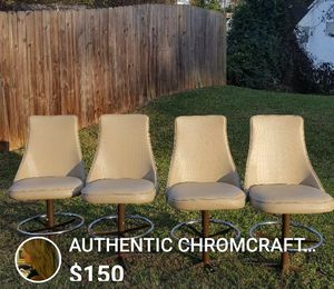 Chromcraft Barstool Chairs Set of 4 for Sale in Brookneal, VA
