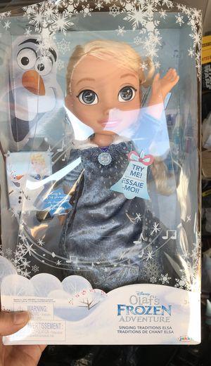 Elsa Frozen new doll for Sale in Murfreesboro, TN