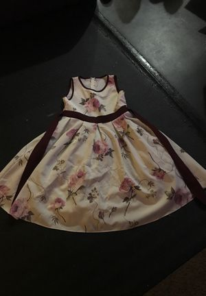 Children company girls flower dress Size:10 for Sale in El Cajon, CA